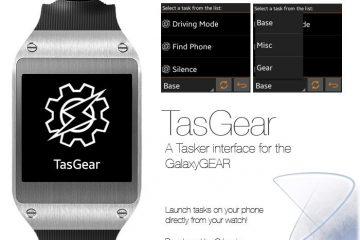 TasGear, Tasker para o Galaxy Gear