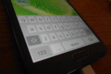 Instale o teclado iOS no Android