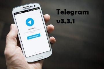 Atualize para o Telegram v3.3.1 e gerencie supergrupos!