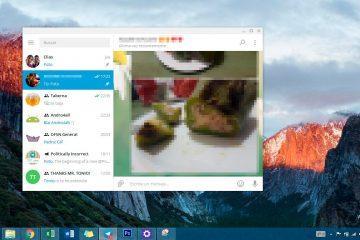 Como minimizar as conversas por telegrama no Windows