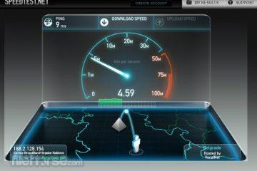 Teste de velocidade com o terminal Ubuntu