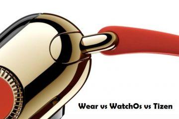 Android Wear vs WatchOS vs Tizen Qual deles você prefere?