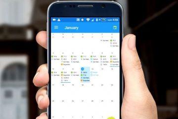 Organize seu calendário de eventos com o Trackendar
