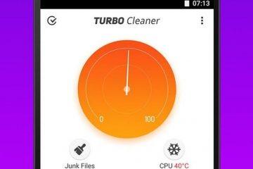 Otimize seu dispositivo Android com o Turbo Cleaner