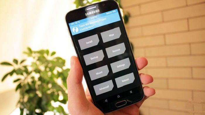 Twrp para Galaxy S7