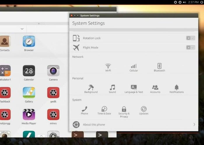 Ubuntu 15.04 com Unity 8