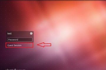 Desativar sessão de convidado no Ubuntu