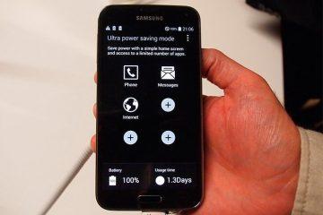 Como adicionar aplicativos ao modo de economia de energia Ultra da Samsung