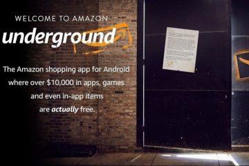 Descubra o Amazon Underground, uma loja com aplicativos 100% gratuitos