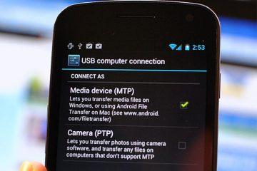Escolha o tipo de conexão USB no Android Marshmallow graças ao Xposed