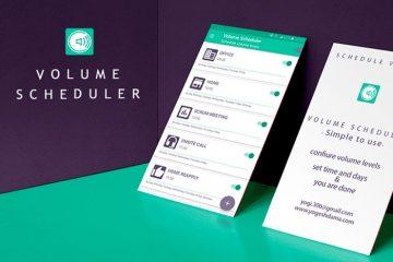Programe seu volume no Android para mudar automaticamente com este aplicativo