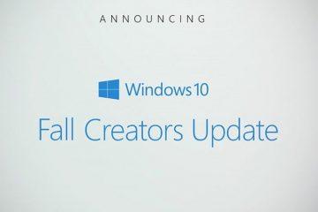 Como voltar para a versão Atualização de criadores, se você atualizou a Atualização de criadores de outono