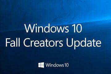 Forçar a instalação da Atualização de Criadores de Queda do Windows 10 a partir da própria configuração