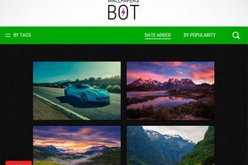 O Wallpapers Bot permite que você personalize facilmente seu papel de parede do Windows
