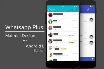 Como ter a interface Material Design do Android L no Whatsapp