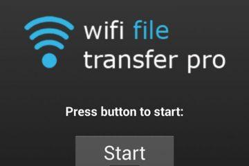 Ensinamos você a transferir arquivos sem usar cabos com o Wifi File Transfer Pro
