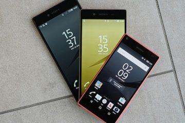 Dê ao seu smartphone a aparência do Sony Xperia Z5 com esses aplicativos